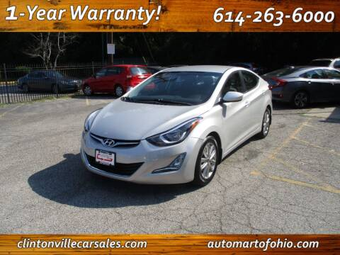 2015 Hyundai Elantra for sale at Clintonville Car Sales - AutoMart of Ohio in Columbus OH