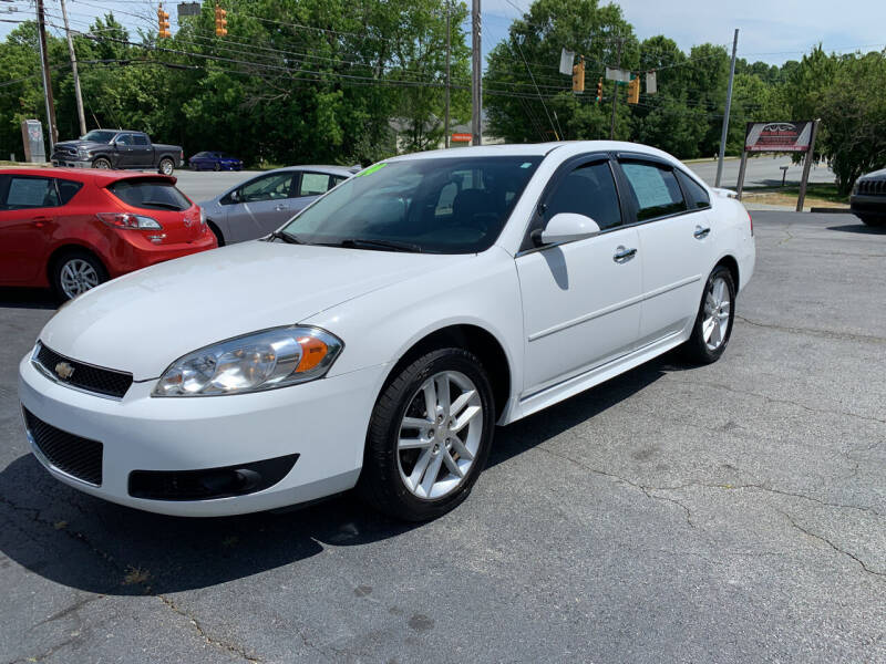 2014 Chevrolet Impala Limited for sale at Simple Auto Solutions LLC in Greensboro NC