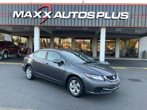 2013 Honda Civic for sale at Maxx Autos Plus in Puyallup WA