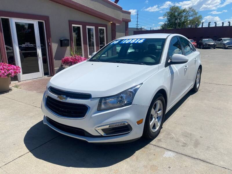 2016 Chevrolet Cruze Limited for sale at Sexton's Car Collection Inc in Idaho Falls ID