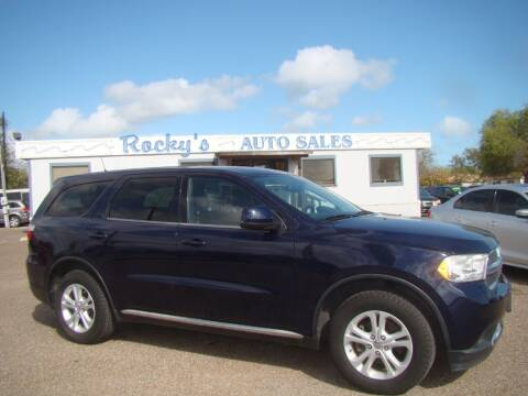 2013 Dodge Durango for sale at Rocky's Auto Sales in Corpus Christi TX