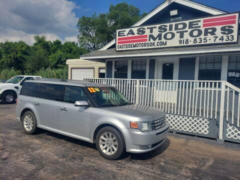 2012 Ford Flex for sale at EASTSIDE MOTORS in Tulsa OK
