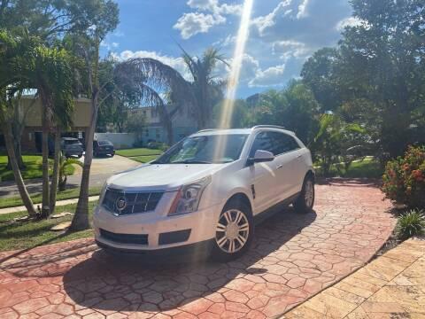 2011 Cadillac SRX for sale at ONYX AUTOMOTIVE, LLC in Largo FL