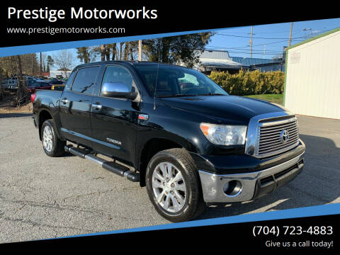 2011 Toyota Tundra for sale at Prestige Motorworks in Concord NC