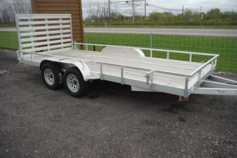 2019 Quality Steel 82 X 16 TANDEM ALUMINUM for sale at Bryan Auto Depot in Bryan OH