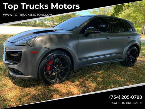 2015 Porsche Cayenne for sale at Top Trucks Motors in Pompano Beach FL