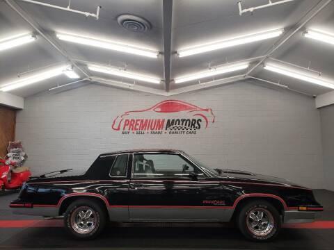 1983 Oldsmobile Cutlass Calais for sale at Premium Motors in Villa Park IL