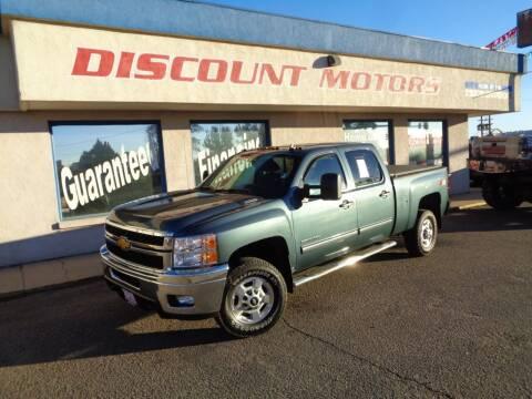 2013 Chevrolet Silverado 2500HD for sale at Discount Motors in Pueblo CO