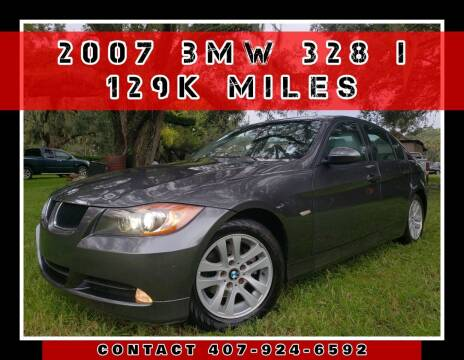 2007 BMW 3 Series for sale at AFFORDABLE ONE LLC in Orlando FL