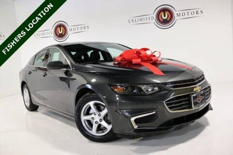 2018 Chevrolet Malibu for sale at Unlimited Motors in Fishers IN
