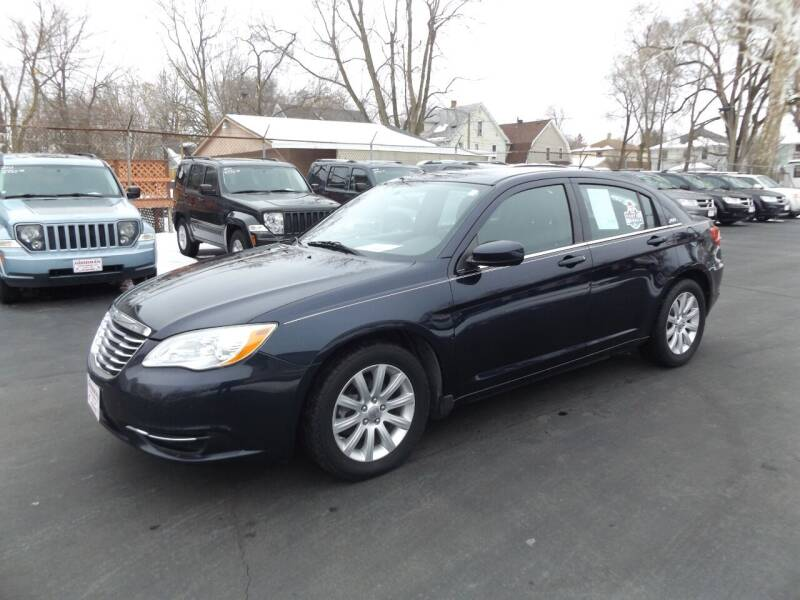 2012 Chrysler 200 for sale at Goodman Auto Sales in Lima OH