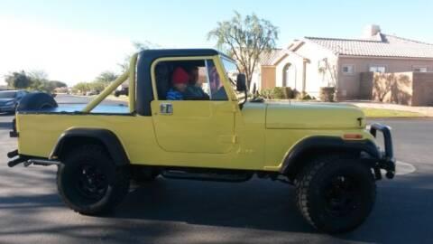 1982 Jeep Scrambler for sale at Classic Car Deals in Cadillac MI