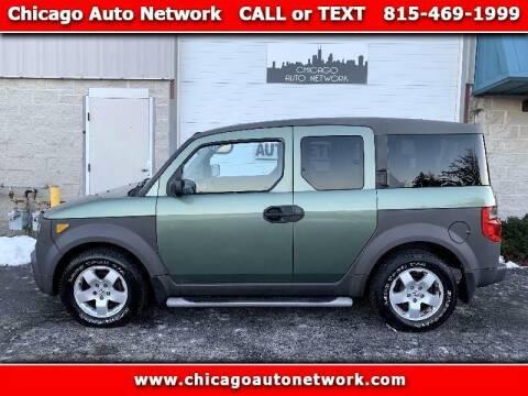 2004 Honda Element for sale at Chicago Auto Network in Mokena IL