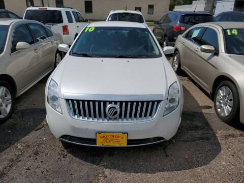2010 Mercury Milan for sale at Brothers Used Cars Inc in Sioux City IA