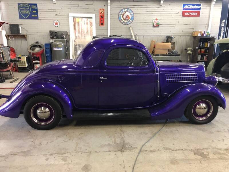 1935 Ford Deluxe for sale at Route 40 Classics in Citrus Heights CA