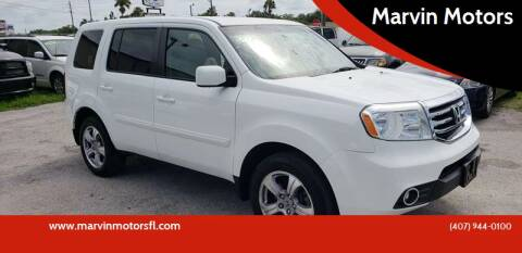 2013 Honda Pilot for sale at Marvin Motors in Kissimmee FL