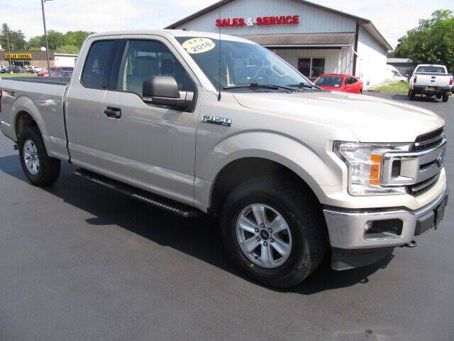 2018 Ford F-150 for sale at Thompson Motors LLC in Attica NY