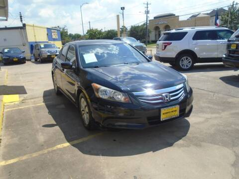 2012 Honda Accord for sale at Metroplex Motors Inc. in Houston TX