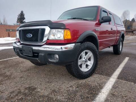 2005 Ford Ranger for sale at HIGH COUNTRY MOTORS in Granby CO