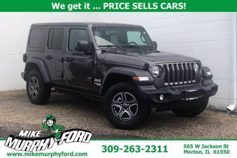2018 Jeep Wrangler Unlimited for sale at Mike Murphy Ford in Morton IL