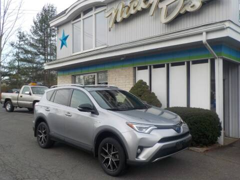 2017 Toyota RAV4 Hybrid for sale at Nicky D's in Easthampton MA
