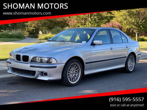 1997 BMW 5 Series for sale at SHOMAN AUTO GROUP in Davis CA
