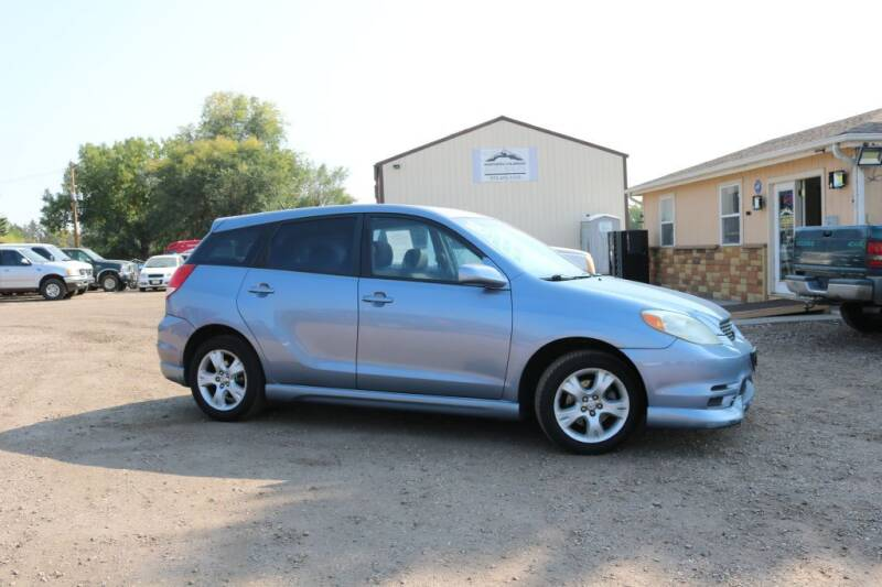 2003 Toyota Matrix for sale at Northern Colorado auto sales Inc in Fort Collins CO