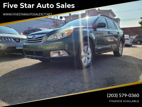 2010 Subaru Outback for sale at Five Star Auto Sales in Bridgeport CT