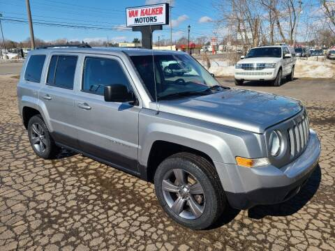 2015 Jeep Patriot for sale at Van Kalker Motors in Grand Rapids MI