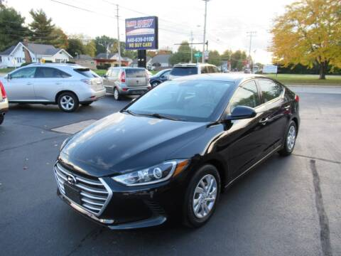 2017 Hyundai Elantra for sale at Lake County Auto Sales in Painesville OH