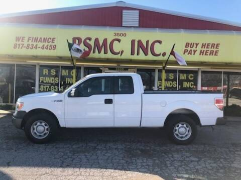 2012 Ford F-150 for sale at Ron Self Motor Company in Fort Worth TX