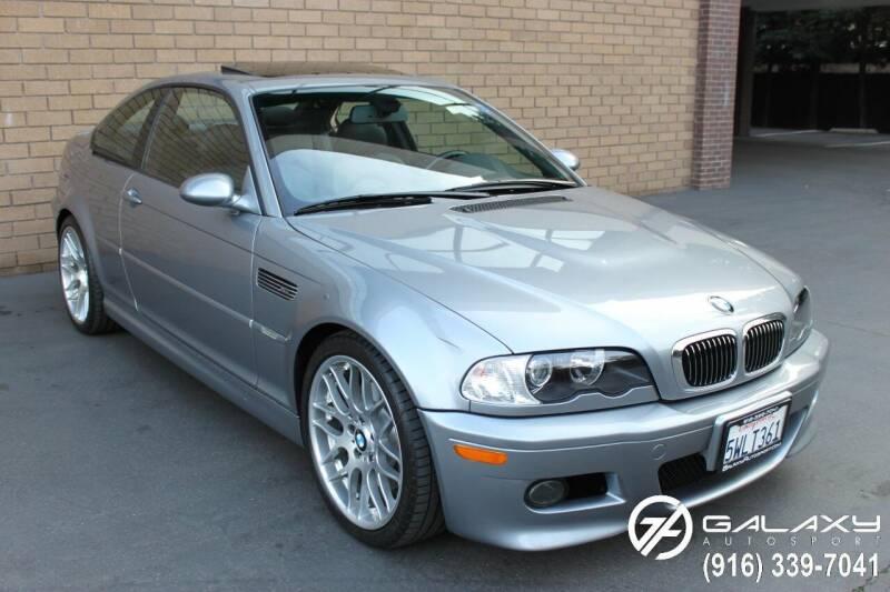 2004 BMW M3 for sale at Galaxy Autosport in Sacramento CA