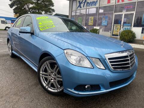 2010 Mercedes-Benz E-Class for sale at Xtreme Truck Sales in Woodburn OR