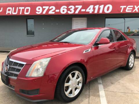 2009 Cadillac CTS for sale at Texas Luxury Auto in Cedar Hill TX