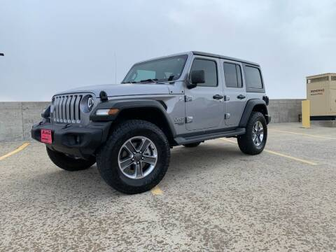 2019 Jeep Wrangler Unlimited for sale at BISMAN AUTOWORX INC in Bismarck ND