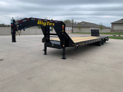 2021 Big Tex 25GN 28+5 Gooseneck Flatbed