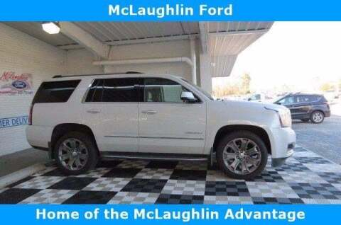 2016 GMC Yukon for sale at McLaughlin Ford in Sumter SC
