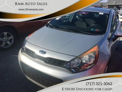 2013 Kia Rio 5-Door for sale at Ram Auto Sales in Gettysburg PA