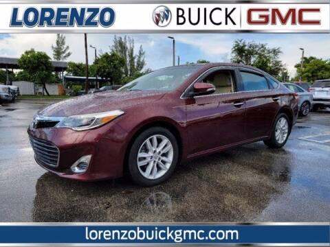 2014 Toyota Avalon for sale at Lorenzo Buick GMC in Miami FL