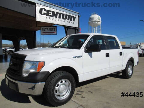 2013 Ford F-150 for sale at CENTURY TRUCKS & VANS in Grand Prairie TX