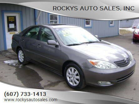 2004 Toyota Camry for sale at Rockys Auto Sales, Inc in Elmira NY