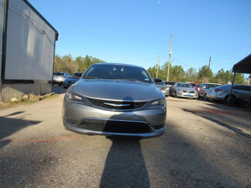 2015 Chrysler 200 for sale at Jump and Drive LLC in Humble TX