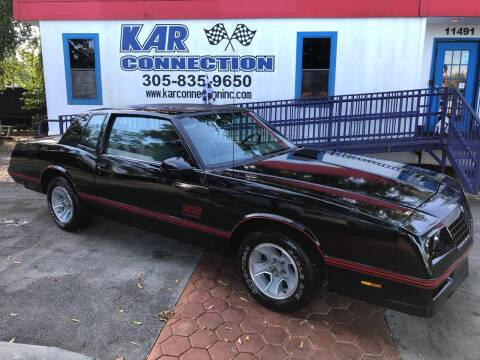 1988 Chevrolet Monte Carlo for sale at Kar Connection in Miami FL