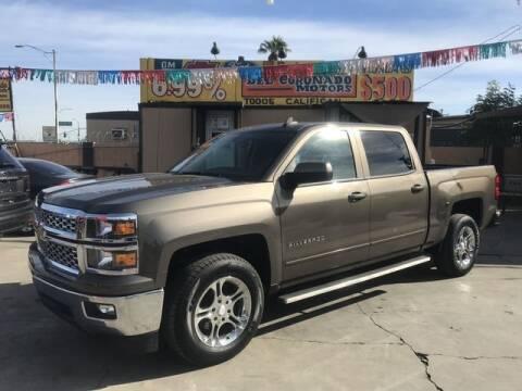 2015 Chevrolet Silverado 1500 for sale at DEL CORONADO MOTORS in Phoenix AZ