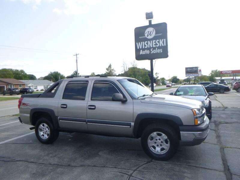2003 Chevrolet Avalanche for sale at Wisneski Auto Sales, Inc. in Green Bay WI