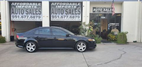 2005 Acura TL for sale at Affordable Imports Auto Sales in Murrieta CA