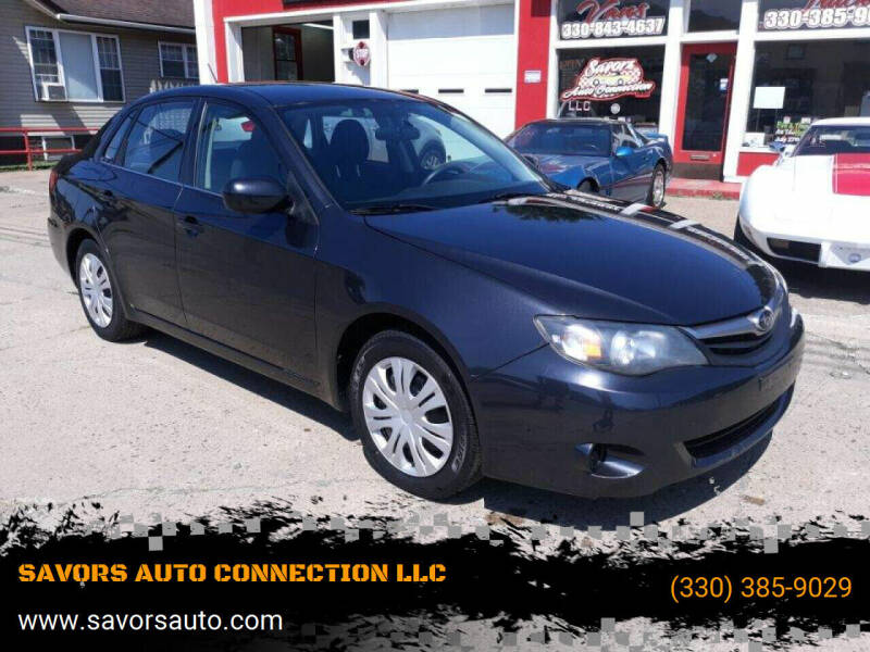 2011 Subaru Impreza for sale at SAVORS AUTO CONNECTION LLC in East Liverpool OH