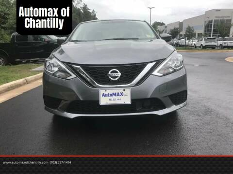2018 Nissan Sentra for sale at Automax of Chantilly in Chantilly VA