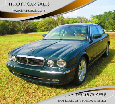 2004 Jaguar XJ-Series for sale at HHOTT CAR SALES in Deerfield Beach FL