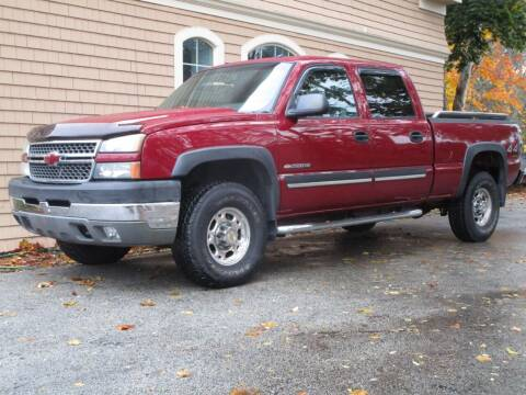 2005 Chevrolet Silverado 2500HD for sale at Car and Truck Exchange, Inc. in Rowley MA